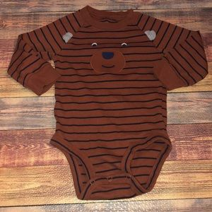 18M LONG SLEEVE ONESIE